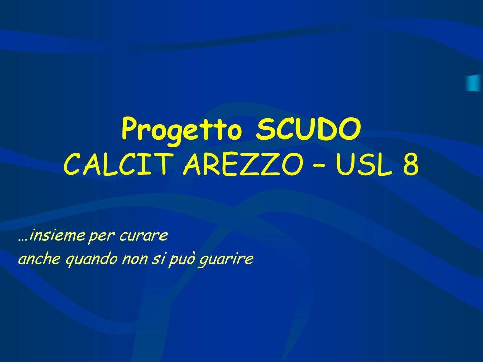Progetto SCUDO CALCIT AREZZO – USL 8 …insieme per curare anche quando non si può guarire