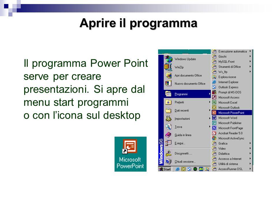 Power Point Lezione breve