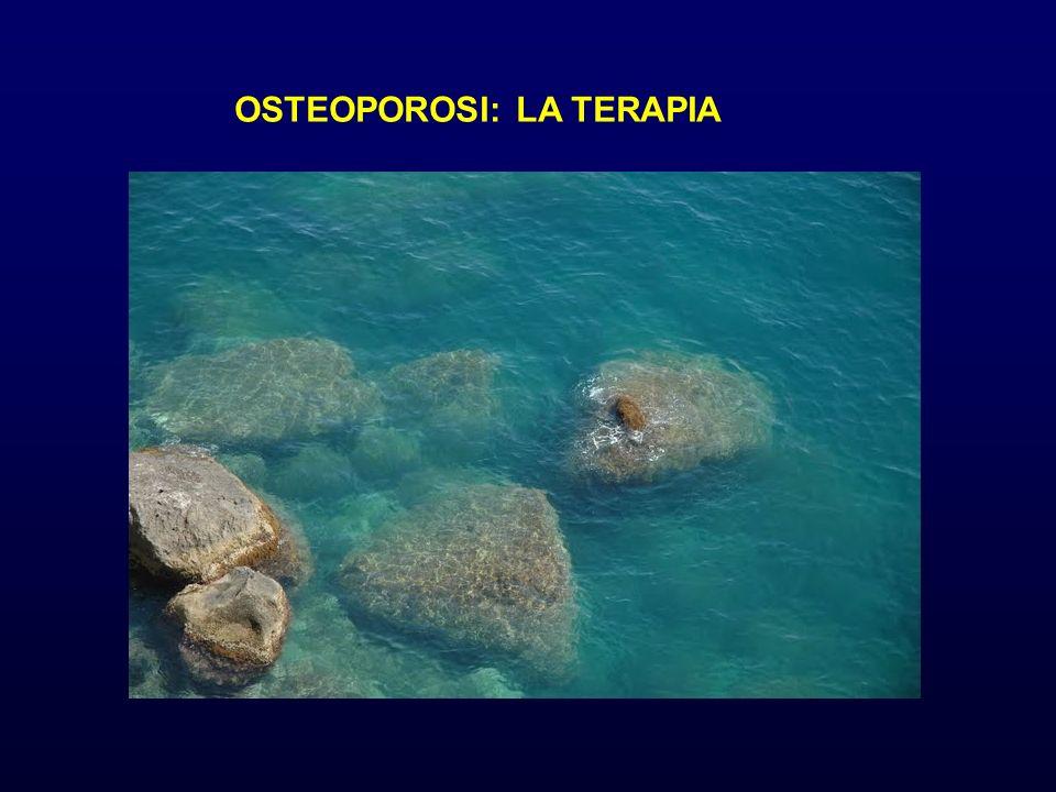 OSTEOPOROSI: LA TERAPIA