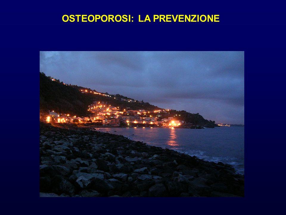 OSTEOPOROSI: LA PREVENZIONE