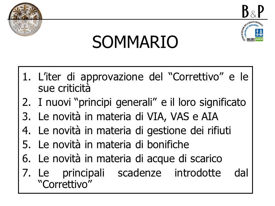 1.La definizione di scarico (II) Art. 2, comma 1, lettera bb), D.Lgs.