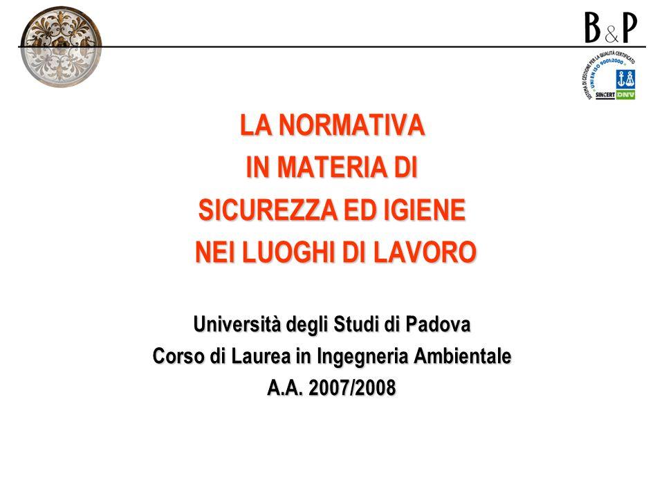8.GLI OBBLIGHI SPECIFICI - AGENTI BIOLOGICI - Capo VIII – titolo VIII – d.lgs.