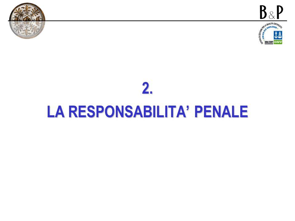 1. La responsabilità di impresa La responsabilità può riguardare -soggetti privati: responsabilità civile contrattuale ed extracontrattuale; -lo Stato