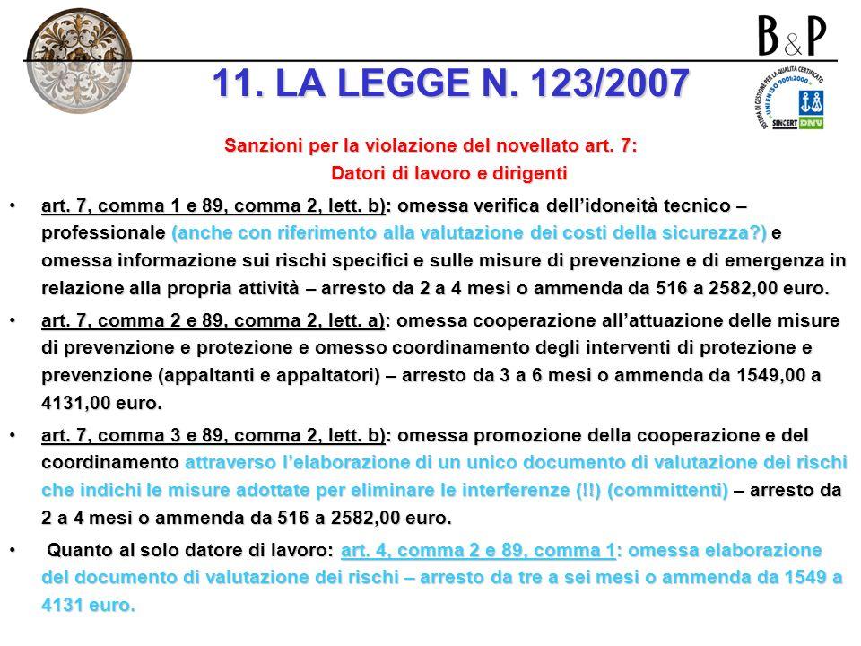 Lindicazione nei contratti di somministrazione, appalto e subappalto (artt. 1559, 1655, 1656 c.c.) (artt. 1559, 1655, 1656 c.c.) dei costi relativi al