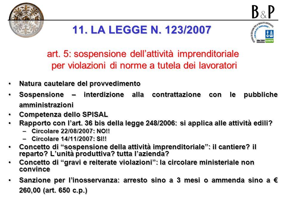 Sanzioni per la violazione del novellato art. 7: Preposti Artt. 7, comma 1, lett.b) e 90, comma 2, lett. b): omessa informazione sui rischi specifici