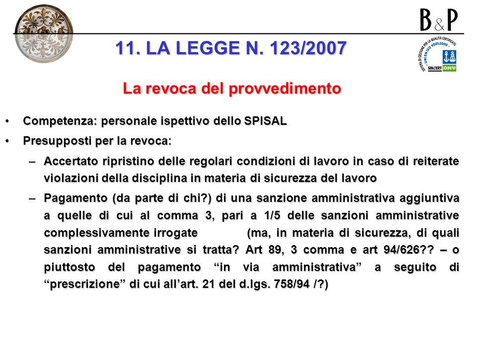 art. 5: sospensione dellattività imprenditoriale per violazioni di norme a tutela dei lavoratori per violazioni di norme a tutela dei lavoratori Natur