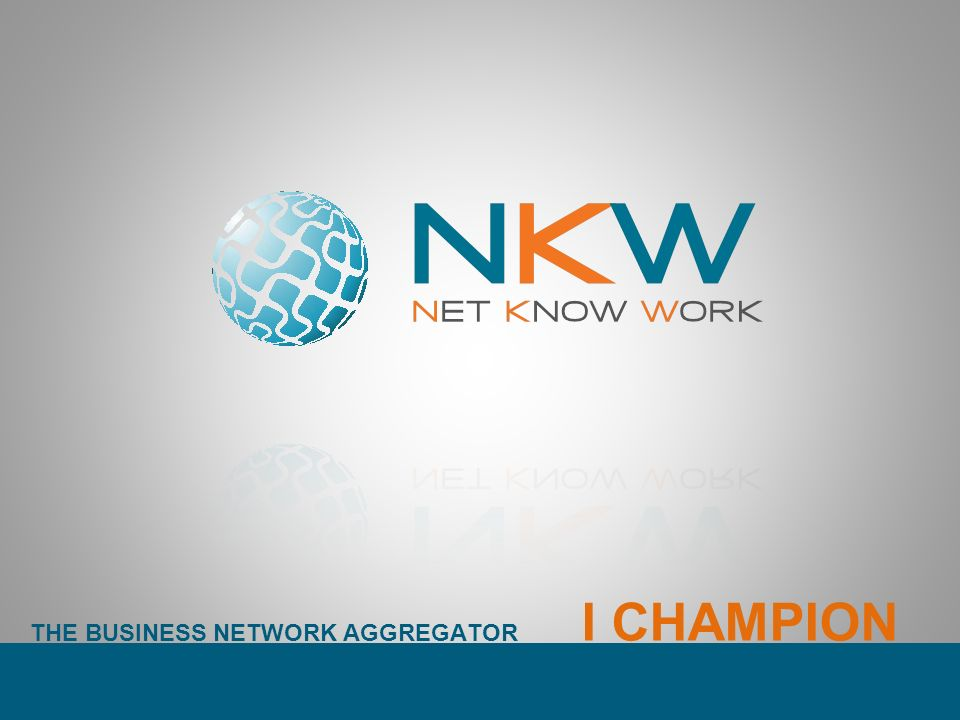 THE BUSINESS NETWORK AGGREGATOR I CHAMPION