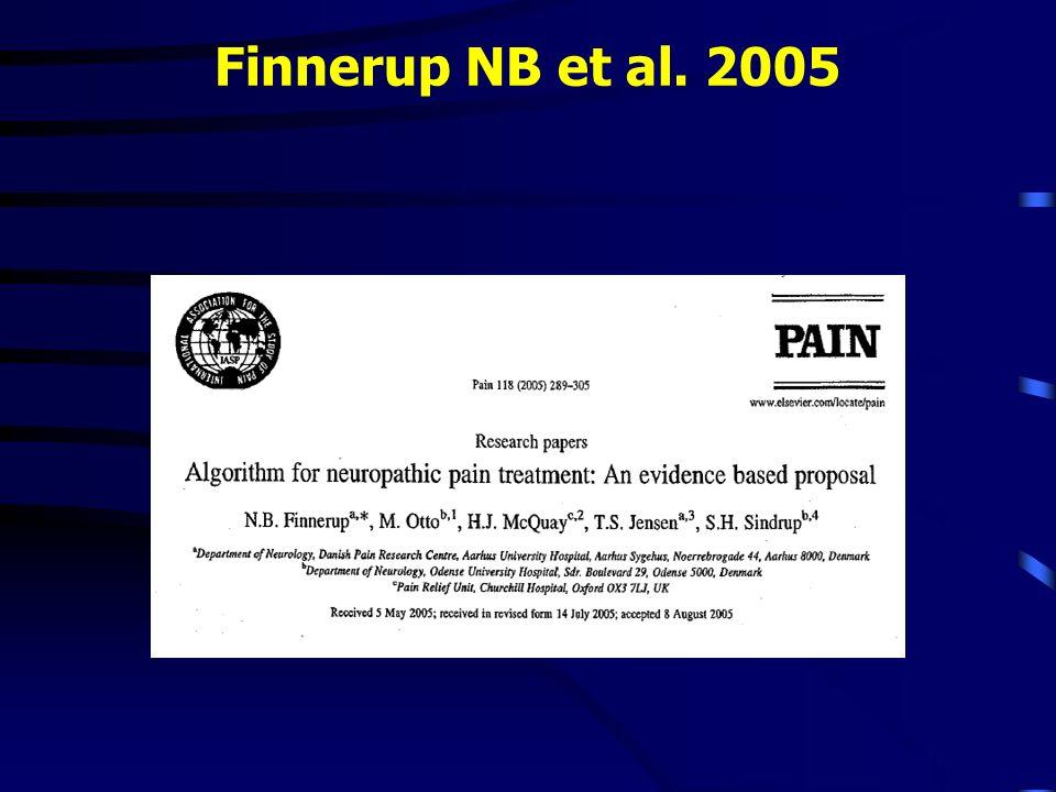 Finnerup NB et al. 2005