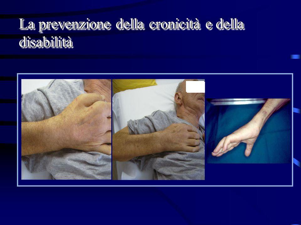La prevenzione della cronicità e della disabilità
