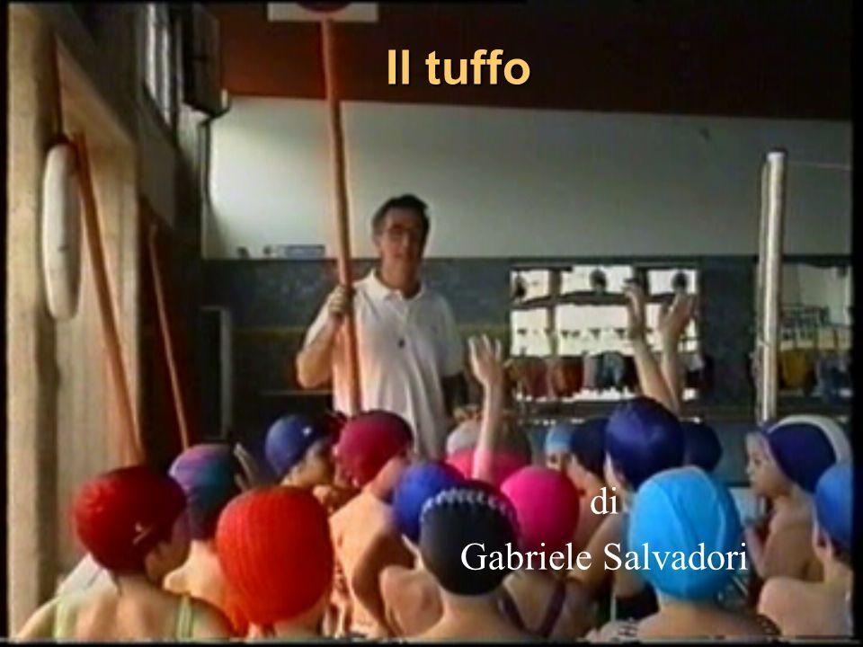 Il tuffo di Gabriele Salvadori