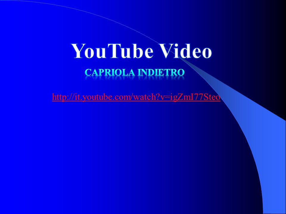 http://it.youtube.com/watch?v=igZmI77Steo