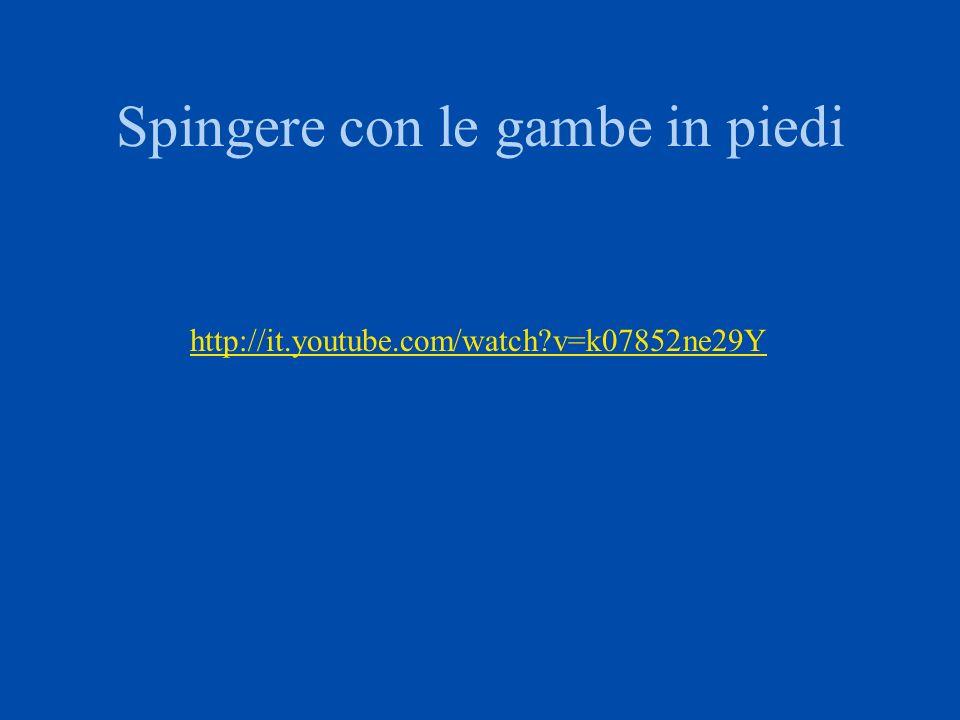 Spingere sul dorso sub http://it.youtube.com/watch?v=3F61Bx7eBcQ