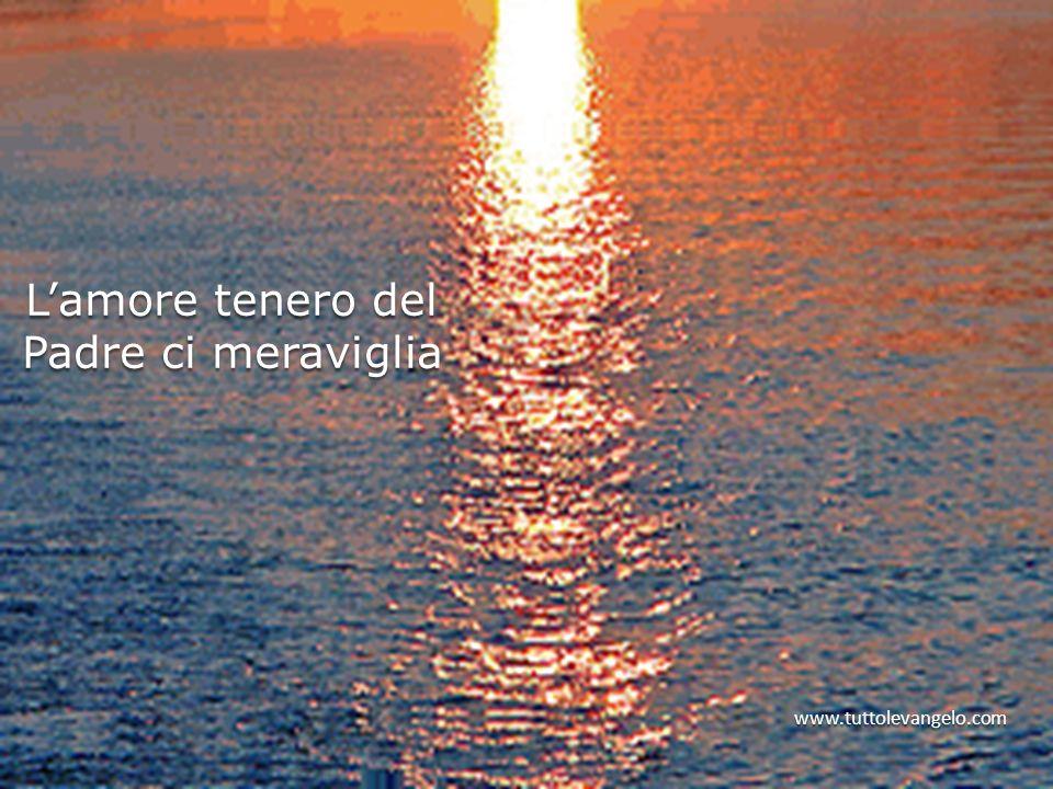 Lamore tenero del Padre ci meraviglia www.tuttolevangelo.com