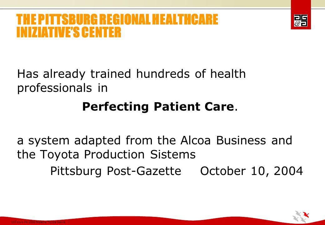 Ul\Forum PA 2006-Sistema Toyota Sanità 28 Virginia Mason Medical Center Seattle