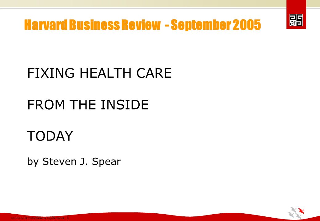 Ul\Forum PA 2006-Sistema Toyota Sanità 59 Risultati ottenuti presso il complesso sanitario ThedaCare (organizzazione interna) EventoQuantità Risparmio complessivo nei costi del personale -30,6 FTE Risparmio negli oneri finanziari - $ 1.450.638 Riduzione del tempo di riscossione crediti -12 giorni (media) Risparmio negli approvvigionamenti - $ 320.234 Riduzione totale costi- $ 2.215.372