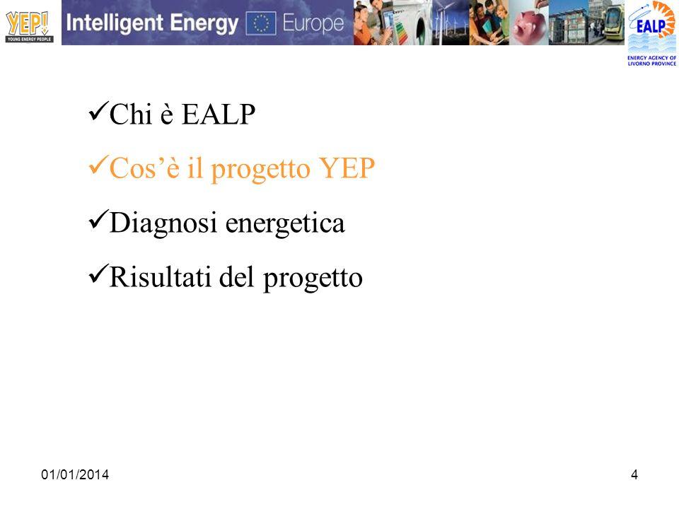 01/01/20145 COS È IL PROGETTO YEP.