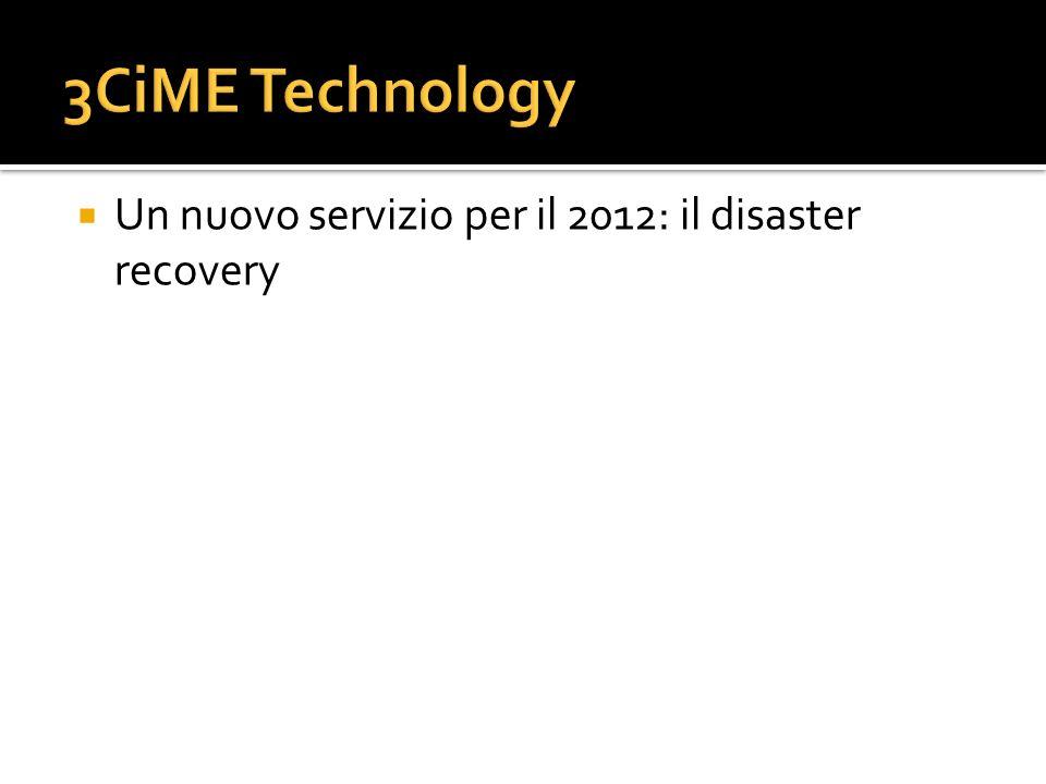Un nuovo servizio per il 2012: il disaster recovery
