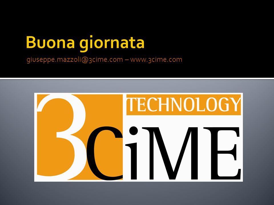 giuseppe.mazzoli@3cime.com – www.3cime.com