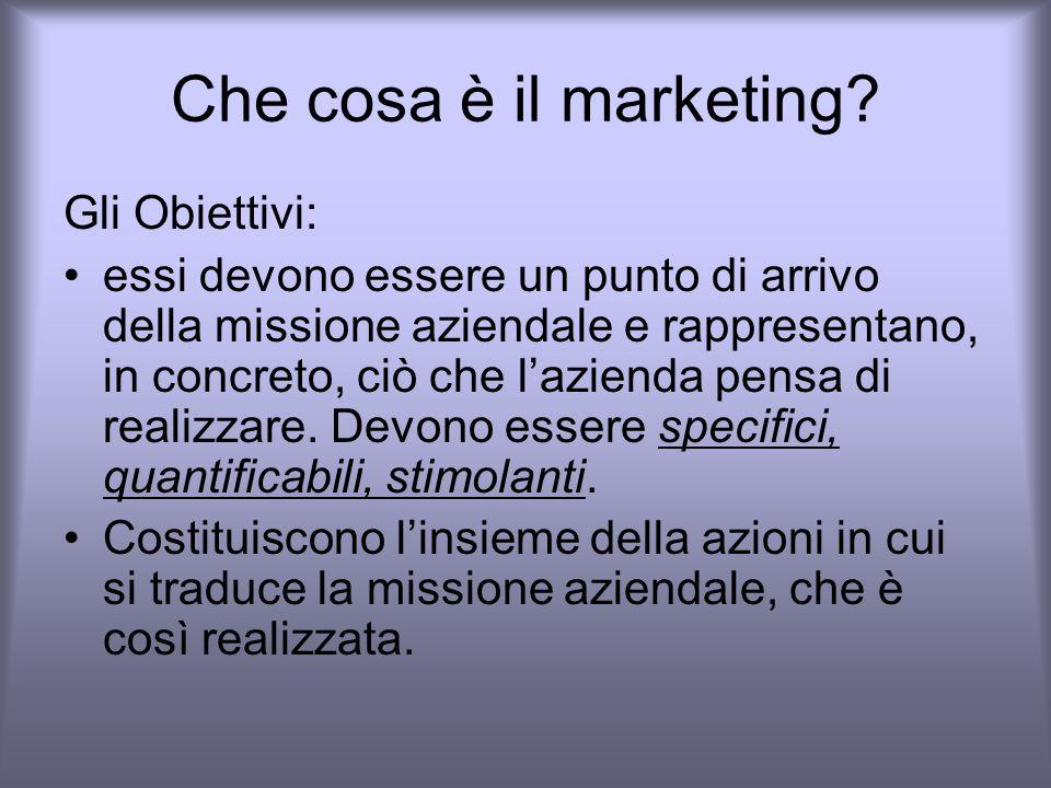 Che cosa è il marketing.LA STRATEGIA.