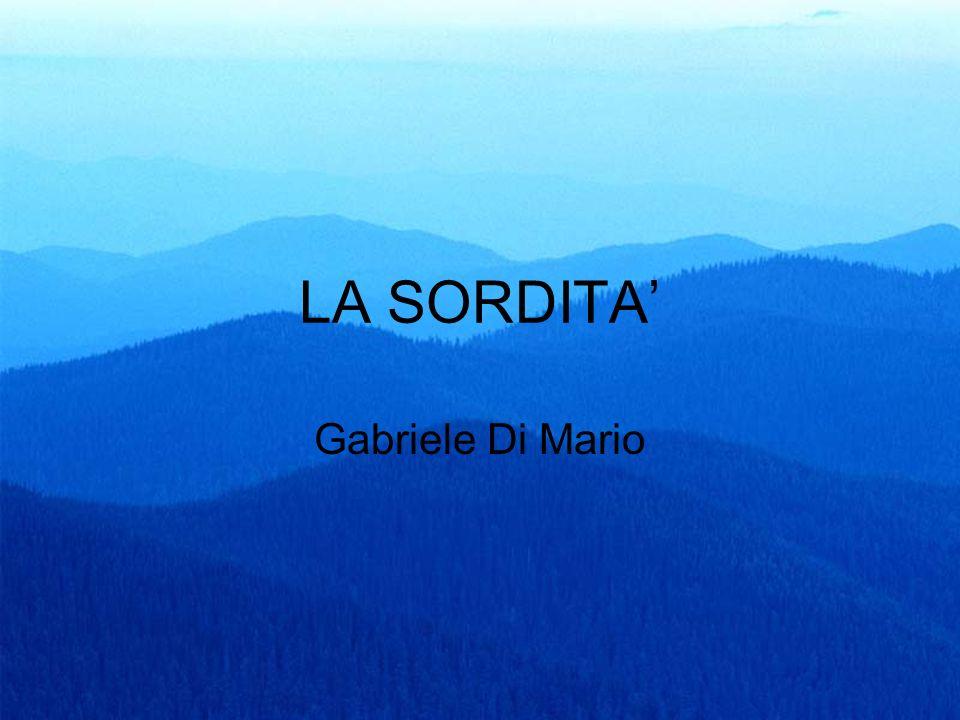 1 LA SORDITA Gabriele Di Mario