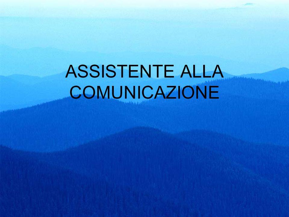 65 ASSISTENTE ALLA COMUNICAZIONE
