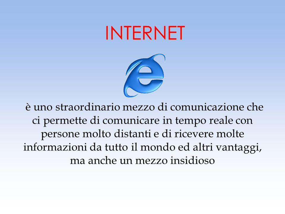 2 Velocità delle comunicazioni Velocità delle comunicazioni Accesso a varie informazioni Accesso a varie informazioni Scambio rapido di notizie Scambi