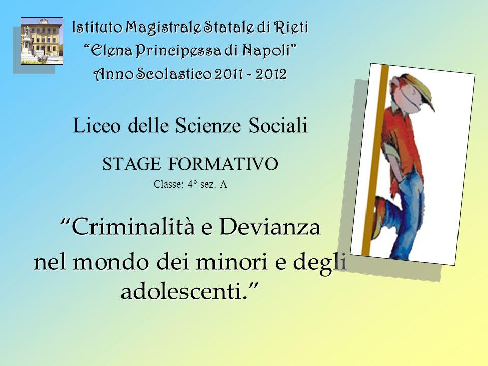 Teoria di Cesare Lombroso: la madre di tutte le teorie deterministiche.
