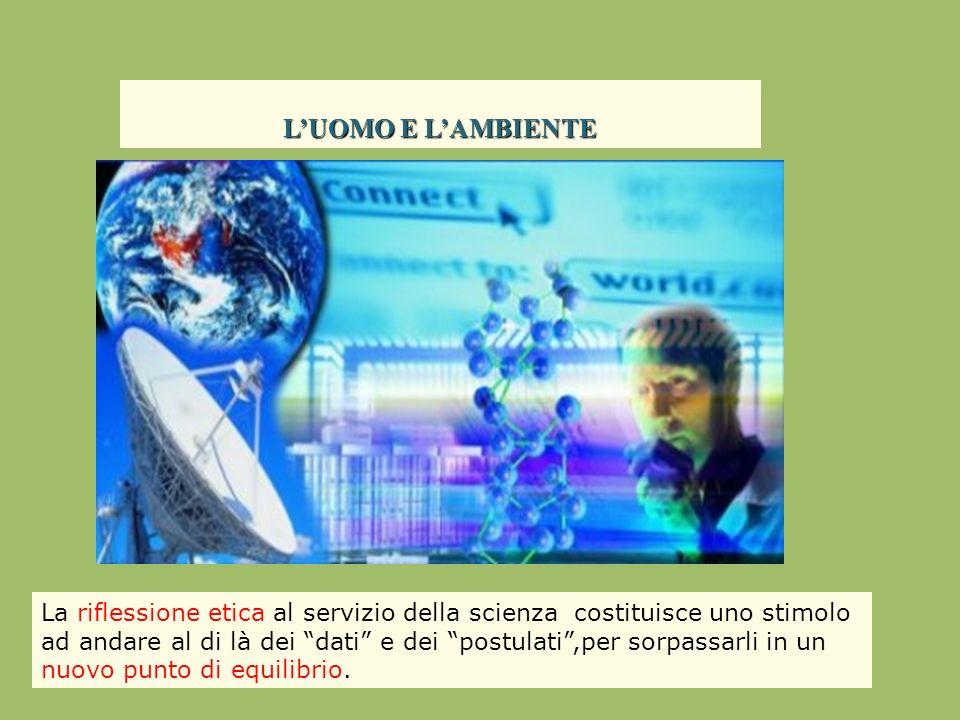 I.Conoscenza e informazione: quali sono i dati scientifici.