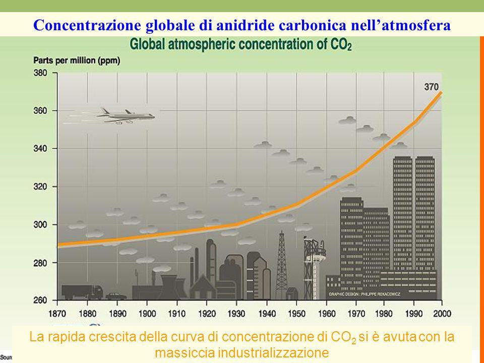 LUOMO E LAMBIENTE MASTER in Bioetica LUOMO E LAMBIENTE La rapida crescita della curva di concentrazione di CO 2 si è avuta con la massiccia industrial