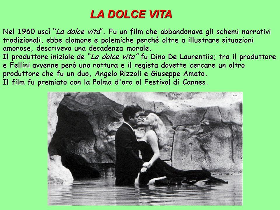 La Strada Il grande successo, anche a livello internazionale, arrivò per Fellini grazie al film La strada, girato nel 1954. L'idea del film si ha into