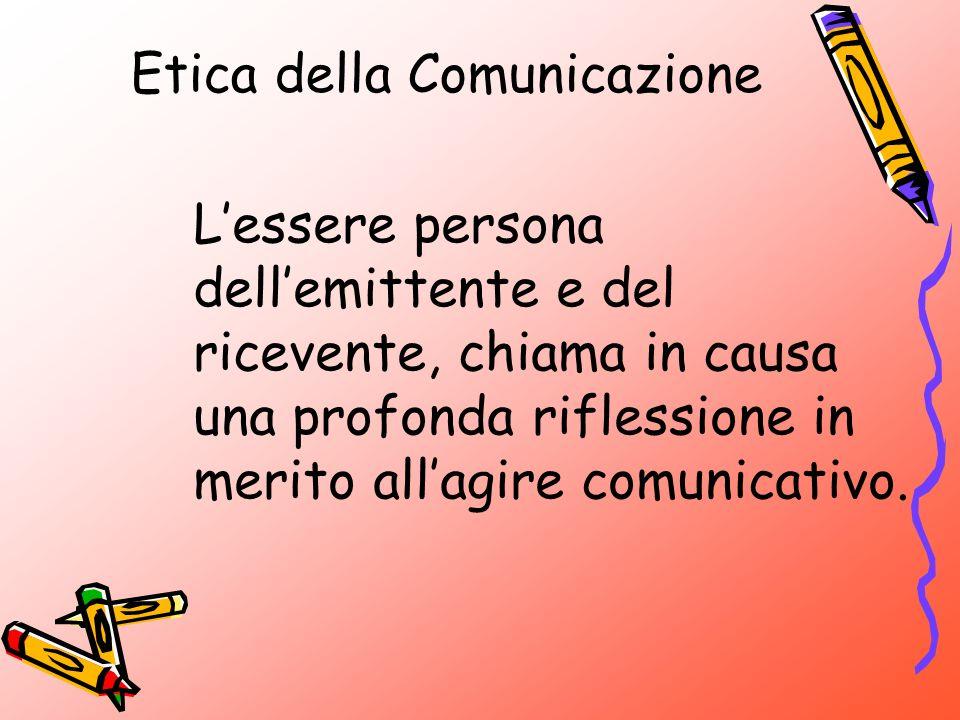 Etica della Comunicazione Il pensiero di Jurgen Habermas Il presupposto: ogni interlocutore è una persona.