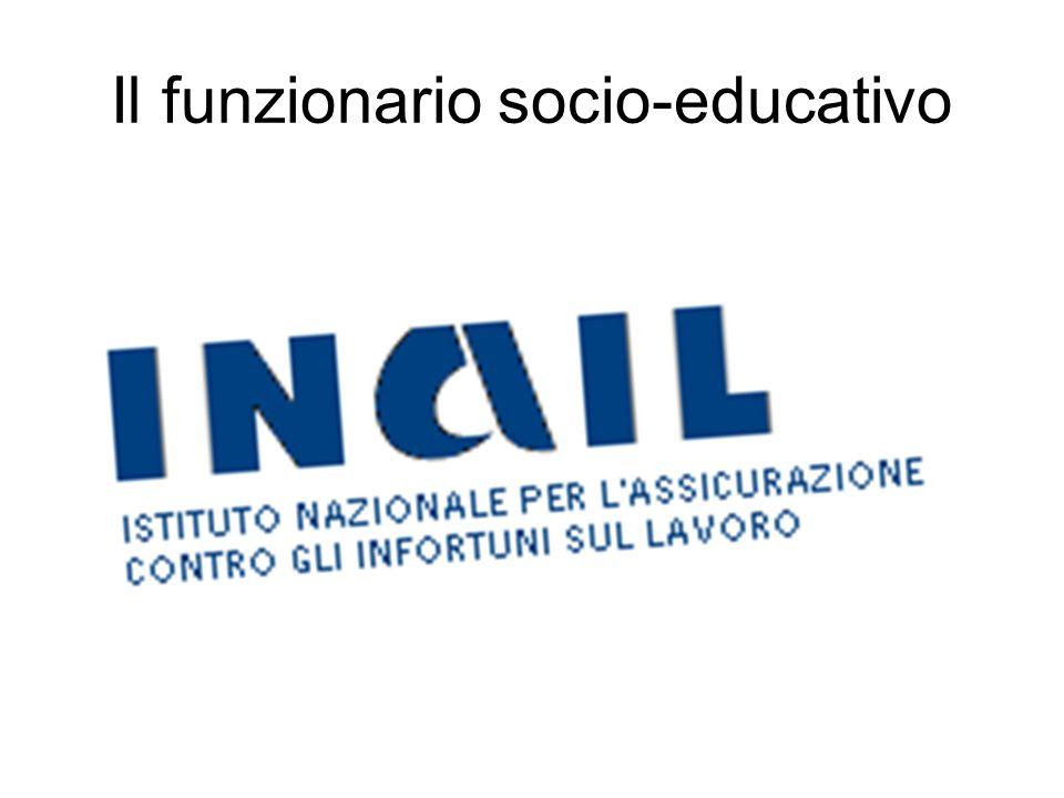Il funzionario socio-educativo