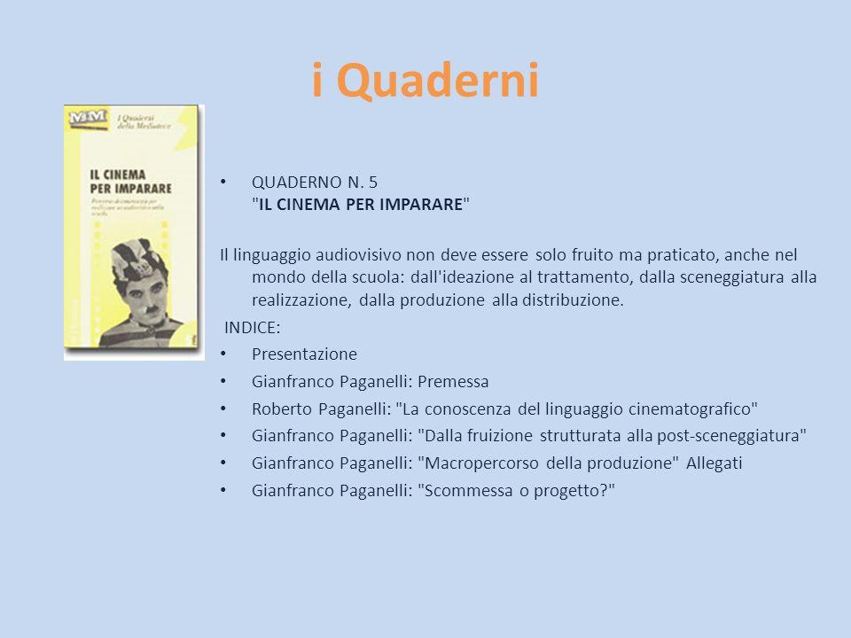 i Quaderni QUADERNO N. 5