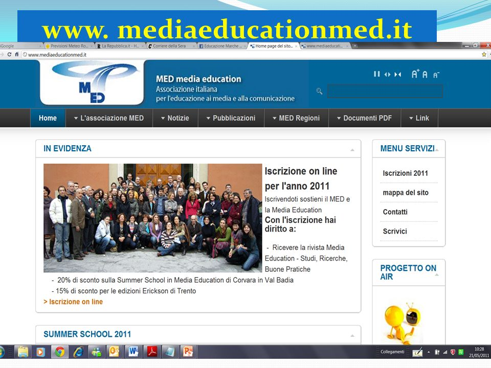 www. mediaeducationmed.it