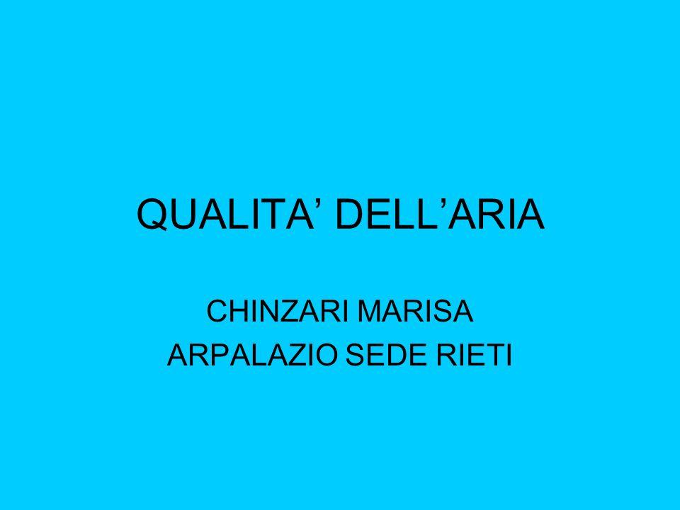 QUALITA DELLARIA CHINZARI MARISA ARPALAZIO SEDE RIETI