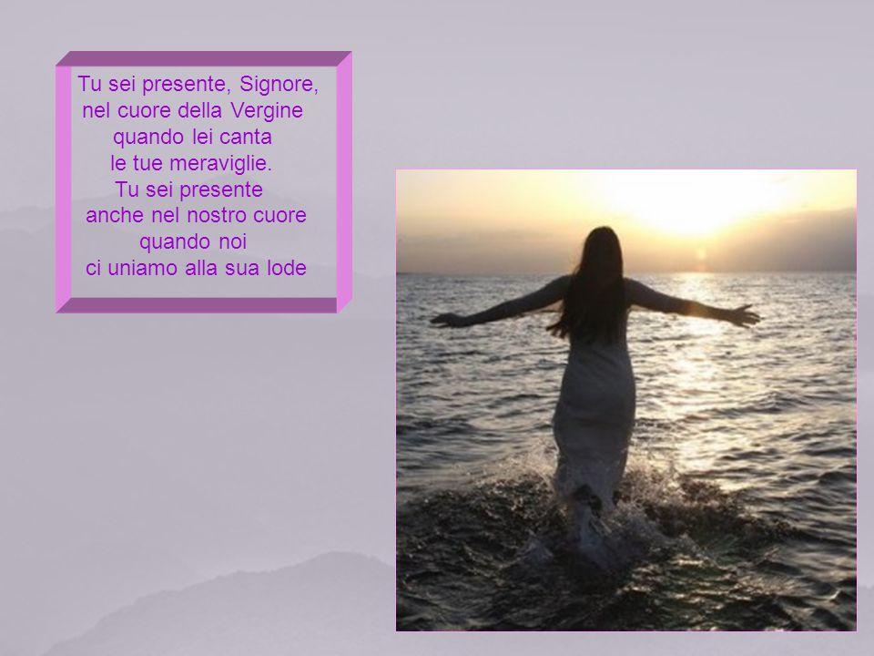Tu Sei presente, Signore, nella santità di coloro che preparano la tua venuta. Sei presente anche nella preghiera del peccatore che implora il tuo per