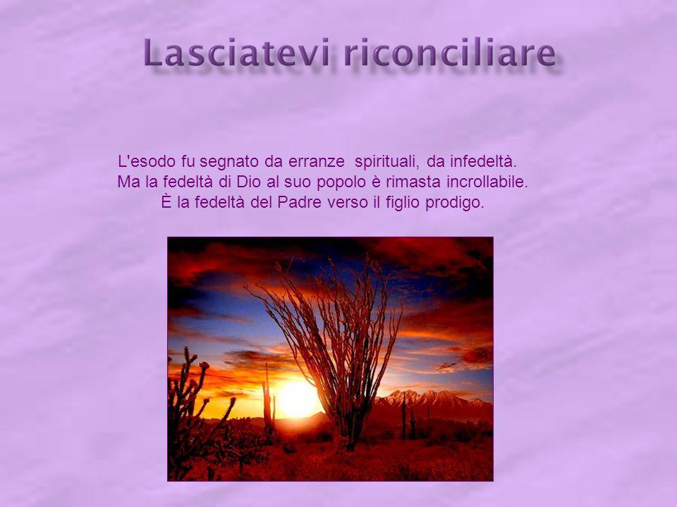 Che ciascuno di noi, oggi, si lasci dunque afferrare dalla novità dell amore di Dio !