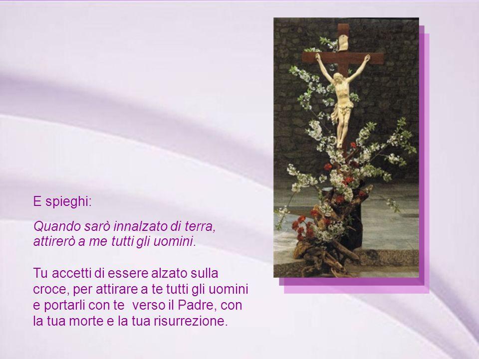 Gesù risponde: Se il chicco di grano caduto in terra non muore...