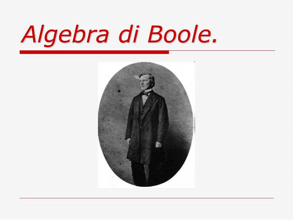 Algebra di Boole.
