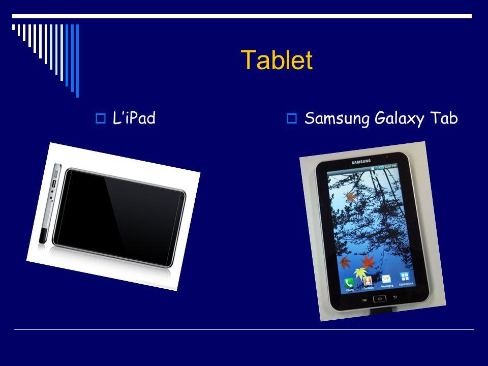 Tablet LiPad Samsung Galaxy Tab