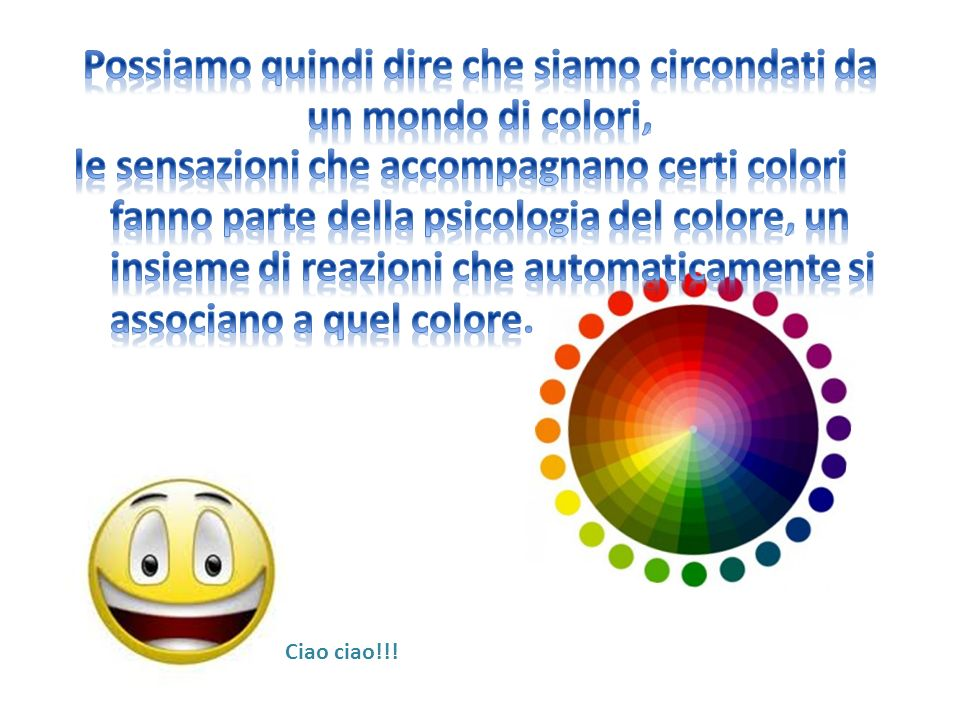 Ciao ciao!!!