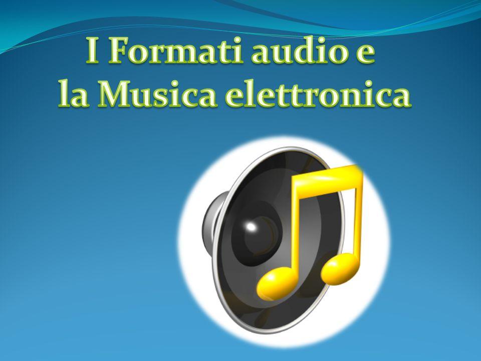 La musica elettronica