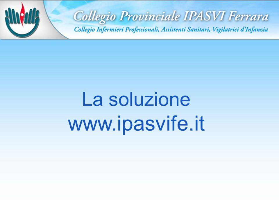 La soluzione www.ipasvife.it