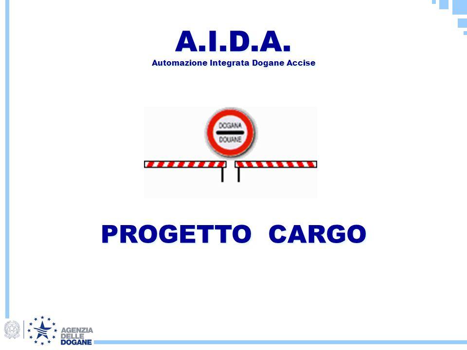 A.I.D.A. Automazione Integrata Dogane Accise PROGETTO CARGO