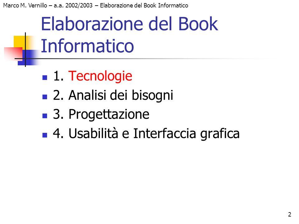 2 Marco M. Vernillo – a.a.