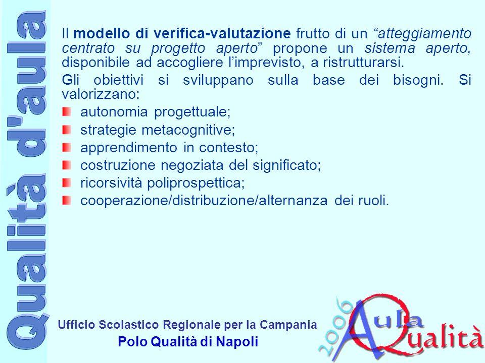 Ufficio Scolastico Regionale per la Campania Polo Qualità di Napoli È impossibile non valutare, tutti valutano tutto.