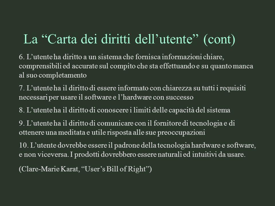 Usabilità del software §Cosè lusabilità del software e…..