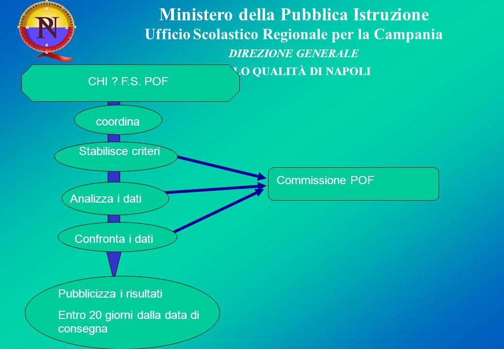 Ministero della Pubblica Istruzione Ufficio Scolastico Regionale per la Campania DIREZIONE GENERALE POLO QUALITÀ DI NAPOLI CHI .
