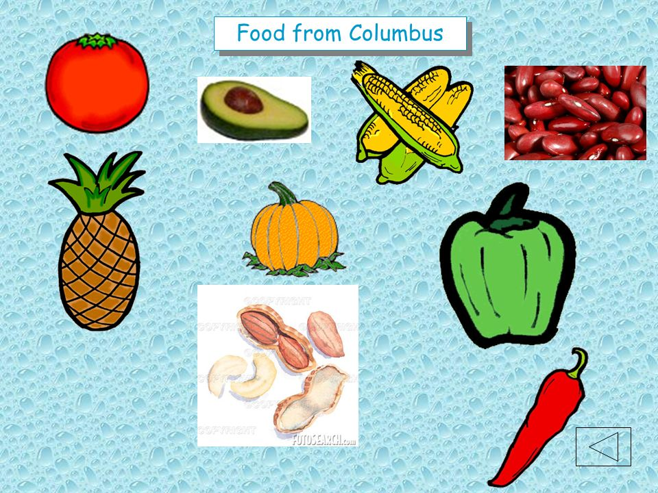 Food from Columbus