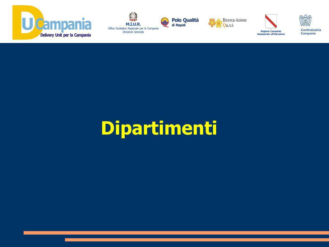 ...Listituzione dei dipartimenti assume, pertanto, valenza strategica per valorizzare la dimensione collegiale e co-operativa dei docenti, strumento prioritario per innalzare la qualità del processo di insegnamento/apprendimento...